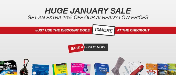 10% January Sale