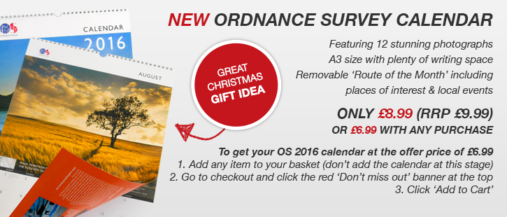 Ordnance Survey Calendar Offer